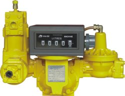 De vloeibare Meter van de Stroom van de Benzine Gas/LPG, Positieve Pd van de Verplaatsing Meter, de Roterende Meter van de Vin