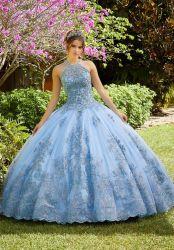 В.ПУТИН Organza Quinceanera одежда мода Applisques валика клея Vestidos Prom Gowns шаровой опоры рычага подвески