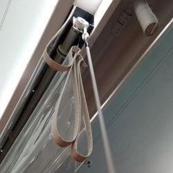 Freie Belüftung-im Freien wasserdichte transparente römische Vorhänge
