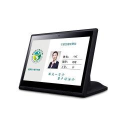 """10.1inch 10 """" Touch Screen L Form-Kostenzähler-Kundendienst-androide Bildschirmanzeige des Android-6.0"""