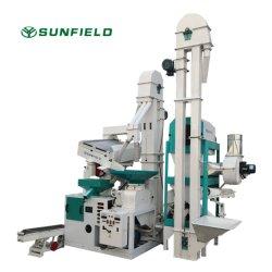 Sunfield 20t/D صغير الحجم كامل ورايس الطحن معالجة دستنر Grading تصنيف سعر الماكينة لمصانع