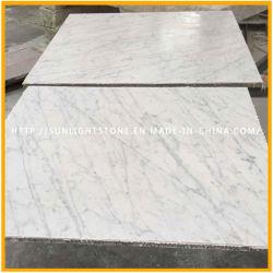 تصميم أرضية رخامية بيضاء Aristons/Carrara/Stateuario/Oriental/Thassos/Arabescato/Calacatta Price White Marble Slab