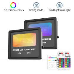 Intelligentes Flutlicht Qualität Bluetooth Ineinander greifen RGB-LED