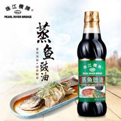 Pont de la rivière des Perles assaisonné Sauce de soja pour les fruits de mer 500ml Bouteille PET en bonne santé et des additifs alimentaires de haute qualité