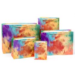 Специальный роскошный магазин Бумага Подарочный мешок Подарочный мешок Упаковка с Рукоятка