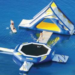 Novo Design personalizado para o Parque Aquático inflável para jogos
