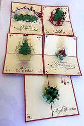 De Kaarten van de Groet van de Kaarten van de Vakantie van de Verjaardag van Kerstmis van de Fabrikant van China ##Ou01