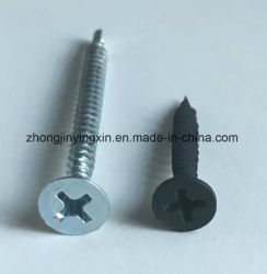 Bugle buena calidad de la cabeza del tornillo aglomerado tornillos Drywall uñas