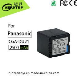 De digitale Batterij van de Camera van de Vervanging Li-Ionen cga-Du21 voor Panasonic nv-GS330 nv-GS400 nv-GS408 nv-GS500