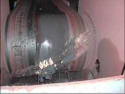 La correa principal limpiador para planta de cemento