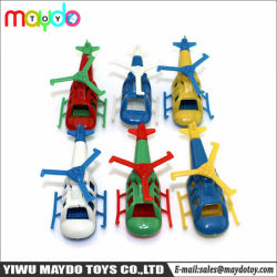 Kleine Plastikminihubschrauber-Spielwaren für Süßigkeit-Torsion-Ei-Einfüllstutzen scherzen Geschenk-Spielwaren