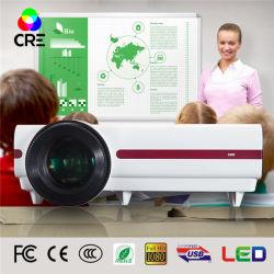 Home Theater y el aula con proyector de LED