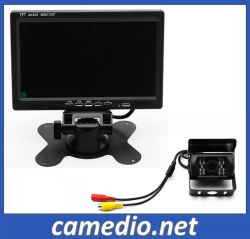 """車Camera+7の""""モニタのバックアップ駐車システムを逆転させるバスまたはTruck/RV/Campervan/Commercialの手段の後ろ"""