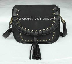 Neue Entwurf Ladys Form-Handtaschen mit Troddel und Stift in Yiwu