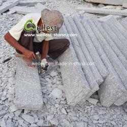 Rough Split G603 Gris claro frenar la piedra para Jardinería