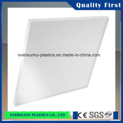 Matiz de color blanco Opal lámina de acrílico para caja de luz