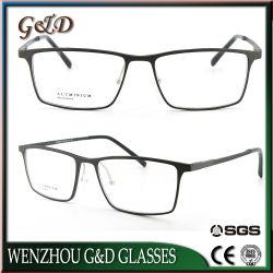 Fabricación mayorista de productos ópticos de bastidor de aluminio de la moda de gafas