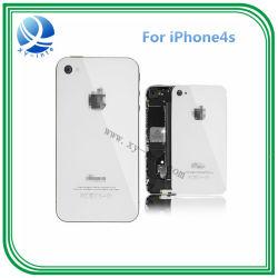 Задняя часть корпуса крышки аккумуляторной батареи для Apple iPhone 4S черного и белого цвета