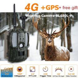 Sendero de la Cámara Inalámbrica de 4G/SMS/MMS GPRS/SMTP Juego de la cámara de la vida silvestre con GPS