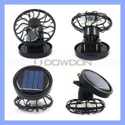 携帯用小型太陽動力を与えられたクリップファン冷却ファンの帽子の帽子のファン省エネ旅行夏のキャンプのファン