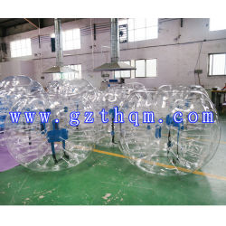 TPU aufblasbare Stoßkugel-Fußball-Luftblase