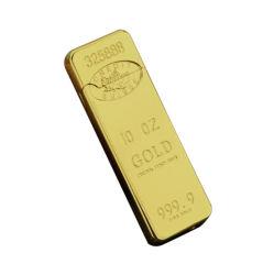 Barra de ouro com novo design mais leve de Plasma recarregada USB
