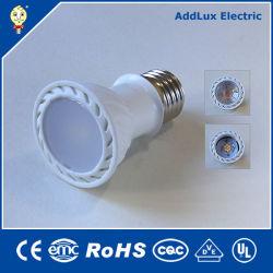 Ce gros UL Saso SMD 220V E27 7W lumineux / LED blanc pur Spotlight fabriqués en Chine pour la maison et d'affaires de l'éclairage intérieur de la meilleure usine de distributeur
