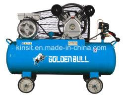 Compressor van de Lucht van de Zuiger van de Cilinder 1.5HP 2 van de Prijs van de fabriek de Beste Mobiele Riem Gedreven