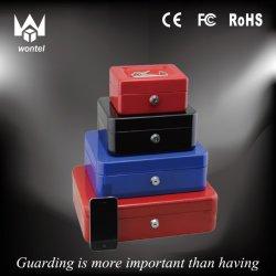 Caixa de caixa de metal populares Tecla de bloqueio com caixa de metal de caixa Bandeja Tipo Moeda