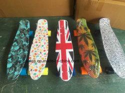 Penny en plastique ABS de poissons de skateboard Mini Skateboard (ET-PSY001)