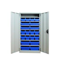 Fabrik-Werkstatt-Plastiksortierfach-Stahlhilfsmittel-Schrank für Industrie-Lager-Speicher