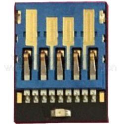 Micro-puce du lecteur Flash USB3.0 UDP avec LED (S1A-8907CL)