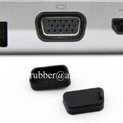 Faser-Baugruppen-Schnittstellen-weiches Silikon-schützender Gummistecker-Naben-Schalter-Server Silikon USB-PortCover/SFP-a staubdicht