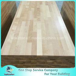Una buena calidad Maderas varias encimera de bloque de carnicero de la mesa de madera