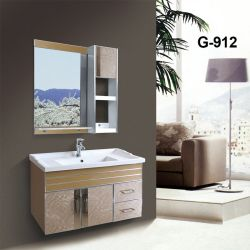 Водонепроницаемая ПВХ ванной комнате с керамическим покрытием Раковина
