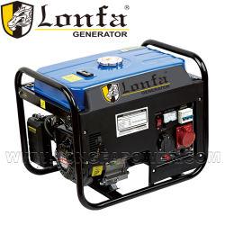 Портативный 2000W 2Квт бензиновый генератор трехфазного генератора бензина