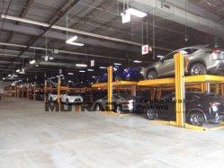 2 Post Empilhador Hidráulico do Veículo automóvel comercial Garagem de elevação