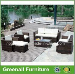 PE moderne d'osier de canne en rotin Accueil Hôtel Patio Jardin meubles de jardin