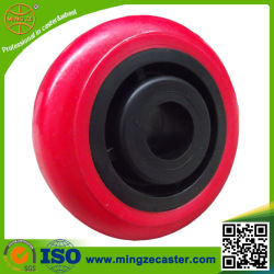 Roda plástica industrial 93A do poliuretano do núcleo