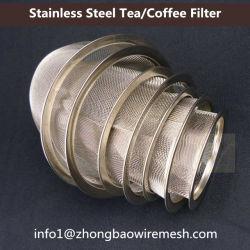 Grille métallique tissée de thé Thé/filtre à tamis/filtre à café/thé Set Accessoires/panier de filtre en acier inoxydable/panier infuser le thé