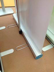 Конкурсные регулируемого стабилизатора поперечной устойчивости баннер стенд, складная подставка для баннера со стальной проволоки футов