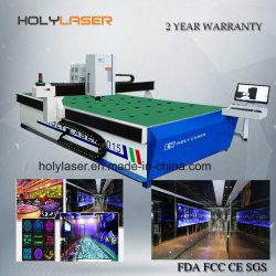 Grande taille 2D/3D à l'intérieur Prix machine à gravure laser de cristal de verre