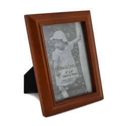 Nuevo marco de fotos de madera angustiado Arte