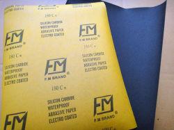Resistente al agua el carburo de silicio de papel artesanales para la Industria Automotriz FM48 180#