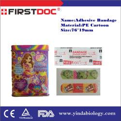 Les produits médicaux les premiers soins médicaux de l'aide de la bande, aides à la promotion de la bande adhésive