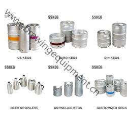China-Lieferanten-Edelstahl-Bier-Zylinder, Bier-Fässer Wholesale
