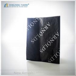 هدية ملابس ملابس أحذية التغليف شعار الذهب مخصص ربط أسود ورق الأنسجة