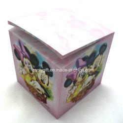 Настройка печати на бумаге Примечание Cube Memo-Cube Примечание блока цилиндров