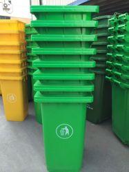 De groene Container Op wielen 240liter van het Huisvuil