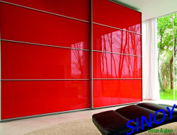 Sinolaco 2mm - 6mm Back variopinto Painted Glass/Lacquered Glass per Interior Applications, Manufactured da Sinoy Mirror inc